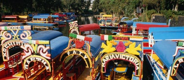 Floating life: cruising Mexico City's canals