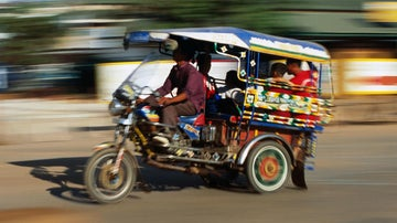 Tuk-tuk tips: hold on tight in Asia's three-wheeled taxis