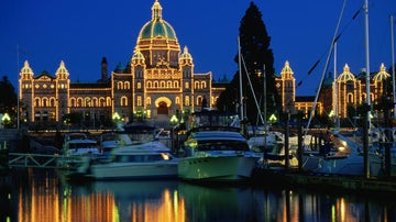British Columbia's capital charms