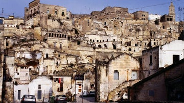 Italy's secret caves: the sassi of Matera