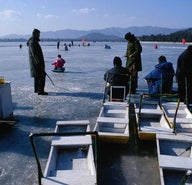 Beijing on ice: 5 ways to cross a frozen lake in style