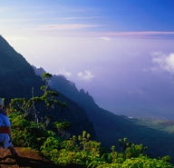 Kaua'i's coast and mountains: a hiker's dream