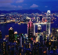 The amazing views of Hong Kong