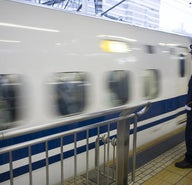 Japan: travel by bullet train