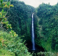 Waterfall adventures on the Big Island of Hawai'i