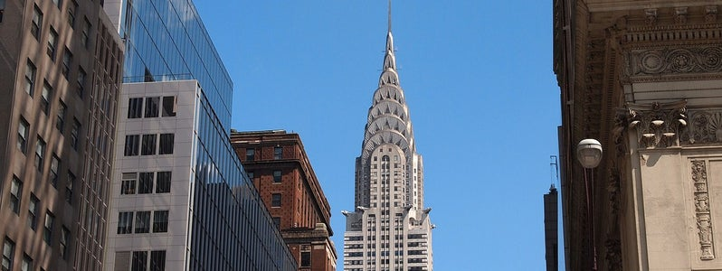 Chrysler Building from 5th Ave by Paul Arps