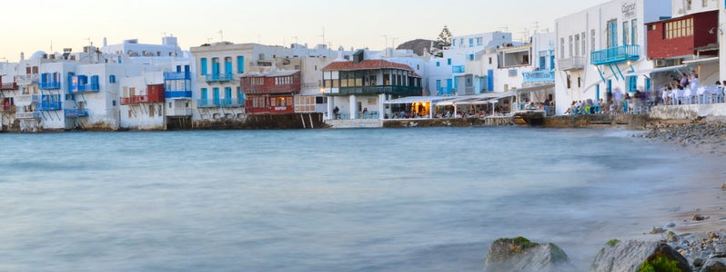 Mykonos, Greece by Allie