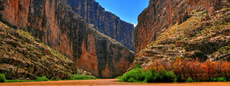Santa Elena Canyon, Big Bend National Park (Explored) by Robert Hensley