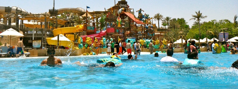 Wild Wadi Water Park. Photo: Sarah Ackerman