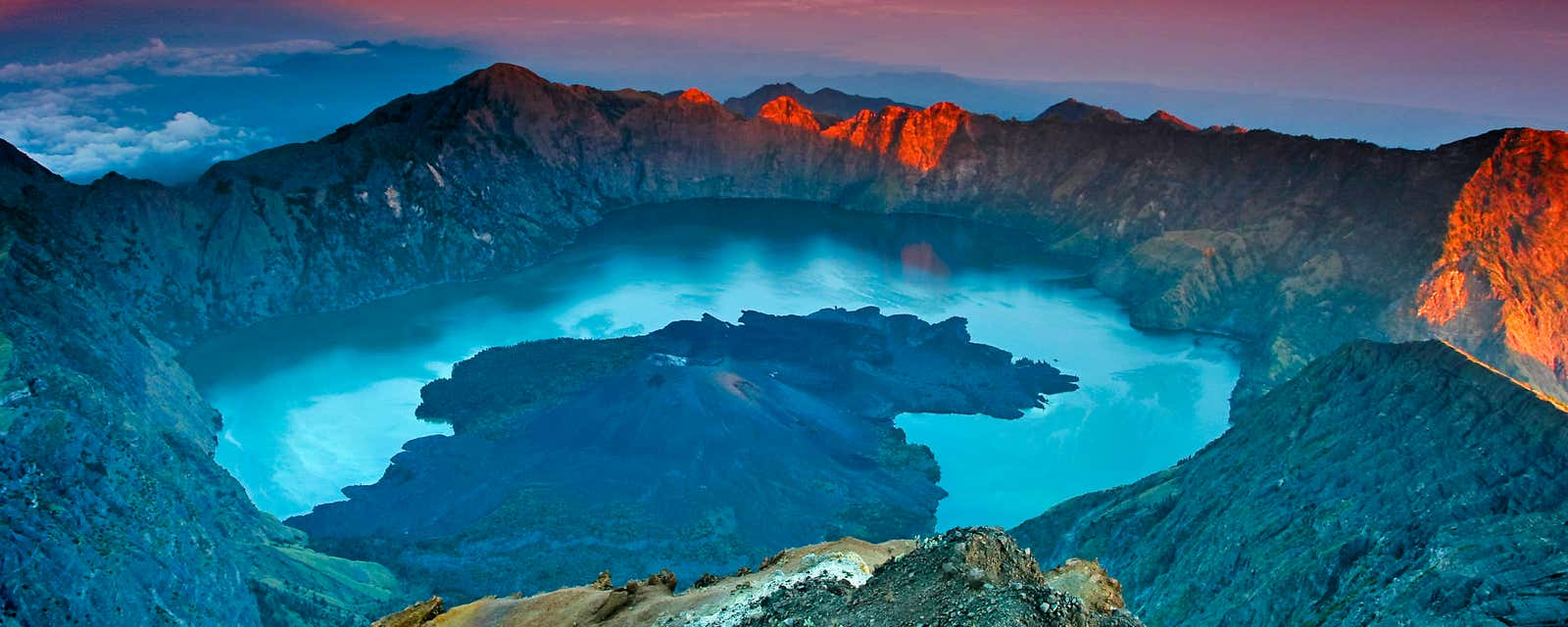Red sky delight, Lombok, Indonesia