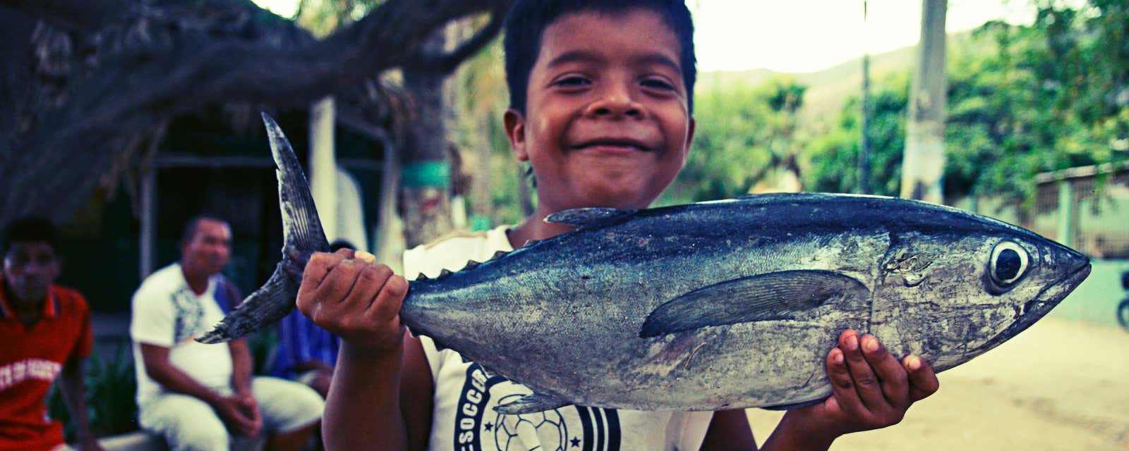 Catch of the day, Taganga, Colombia