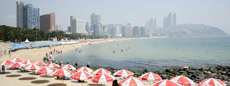 Haeundae Beach by StephNurnberg