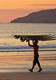 Best surf spots in Central America