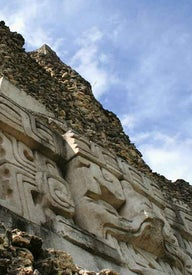 Ancient Maya ruins in Belize