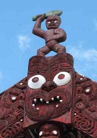 Exploring Maori culture in New Zealand