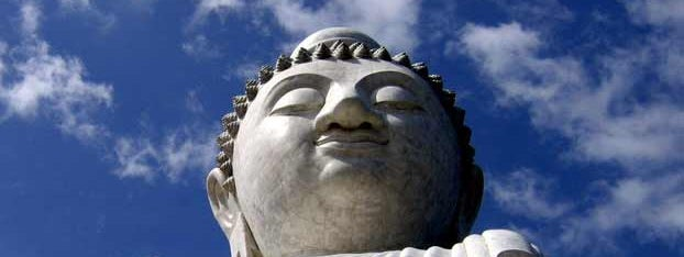 Big Buddha in Phuket  by almost marvelous