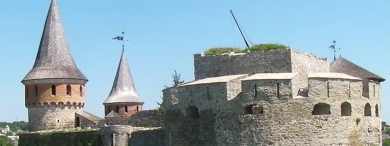 Kamyanets-Podilsky Castle by Brian Dell