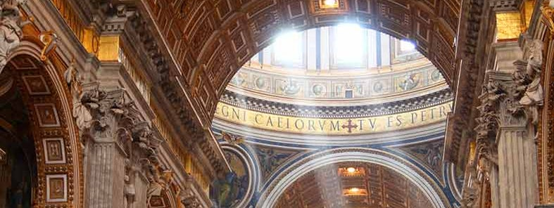 St Peter's Basilica by Ed Brambley