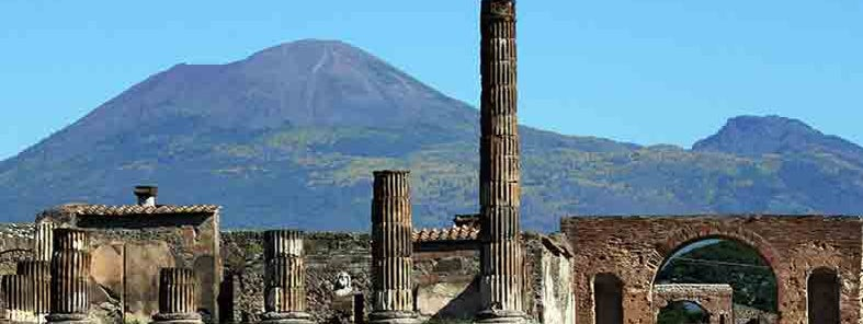 Ancient ruins of Pompeii by Glen Scarborough