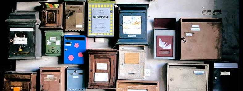 Postboxes in Le Panier by antifluor