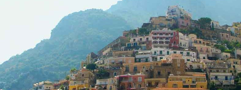 The view in Positano by Ivonne