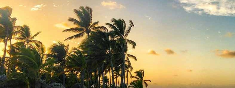 Punta Cana sunset by Maxim B.