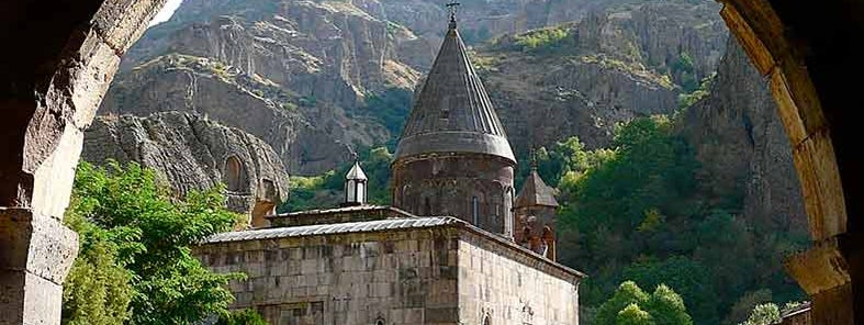 Geghard- Armenia by Rita Willaert
