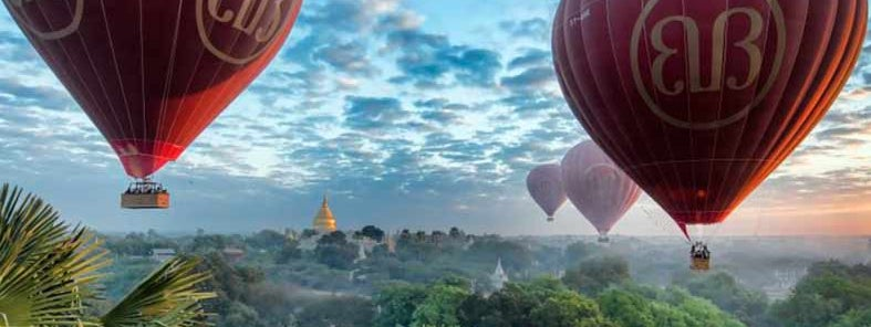 Balloons over Bagan by Christopher Michel