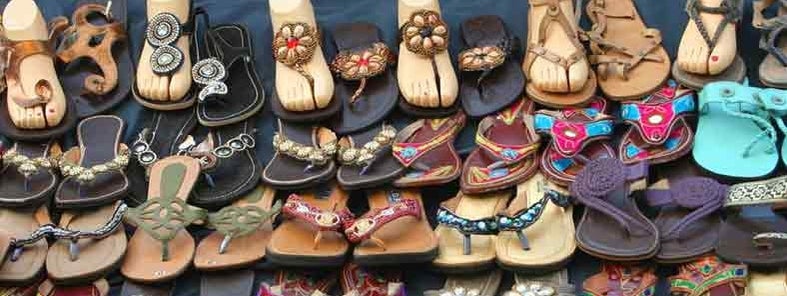Shoes on display by Nagarjun Kandukuru