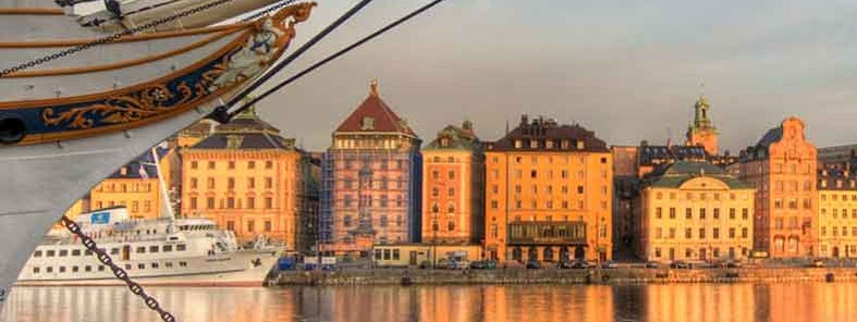 Early morning in Stockholm Old Town by Michael Caven