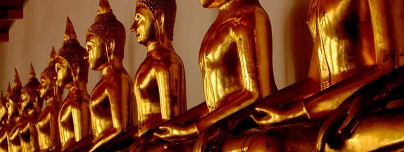 Line of Buddha -Wat Pho by Earth-Bound Misfit, I