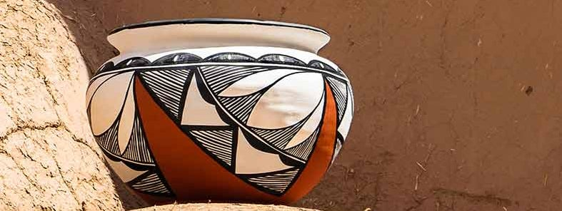 Pottery of Taos Pueblo by Sheila Sund
