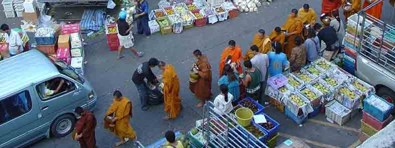 Morning market in Phuket town by Mandy
