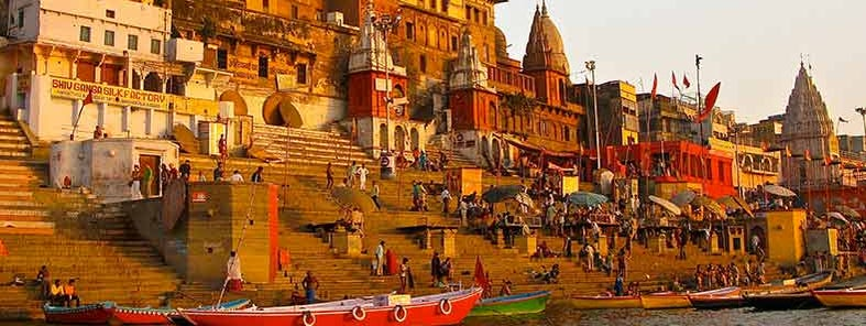 Ganges and Ghats by Ken Wieland