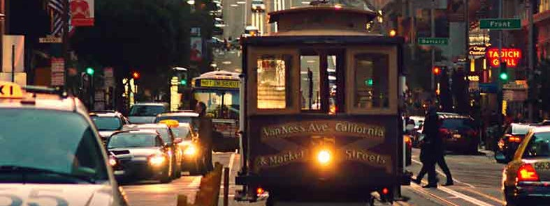 San Francisco cable car by Alfonso Jimenez