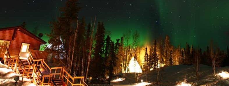 Northern Light at Aurora Village, Yellowknife by GoToVan