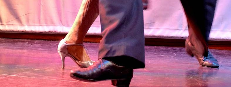 The Argentine tango demands such quick and precise movement, amazing to watch by Madeleine Holland