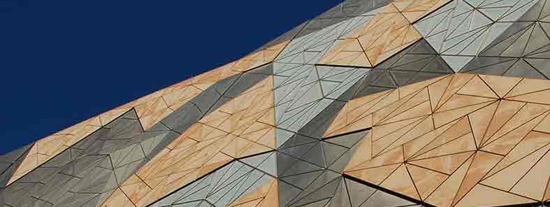 Federation Square Fractals by Rob Deutscher