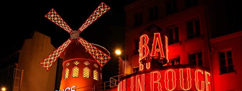 Moulin Rouge by Christine Zenino