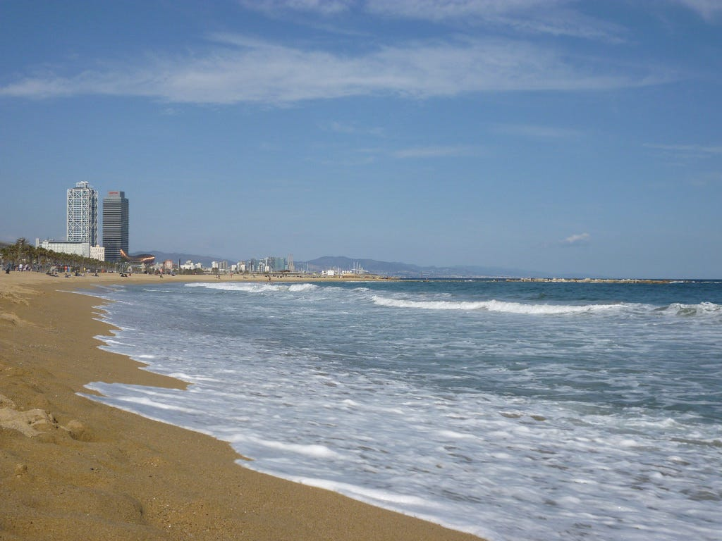 Barcelona's beaches and the waterfront
