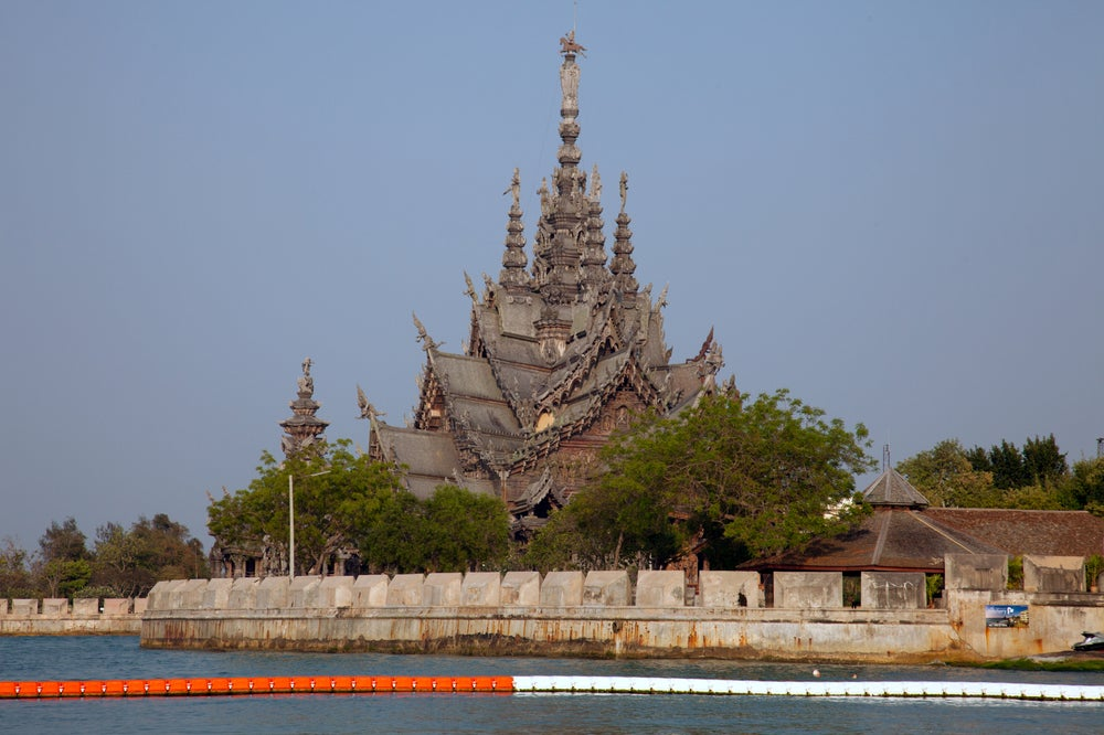 Pattaya's Sanctuary of Truth.