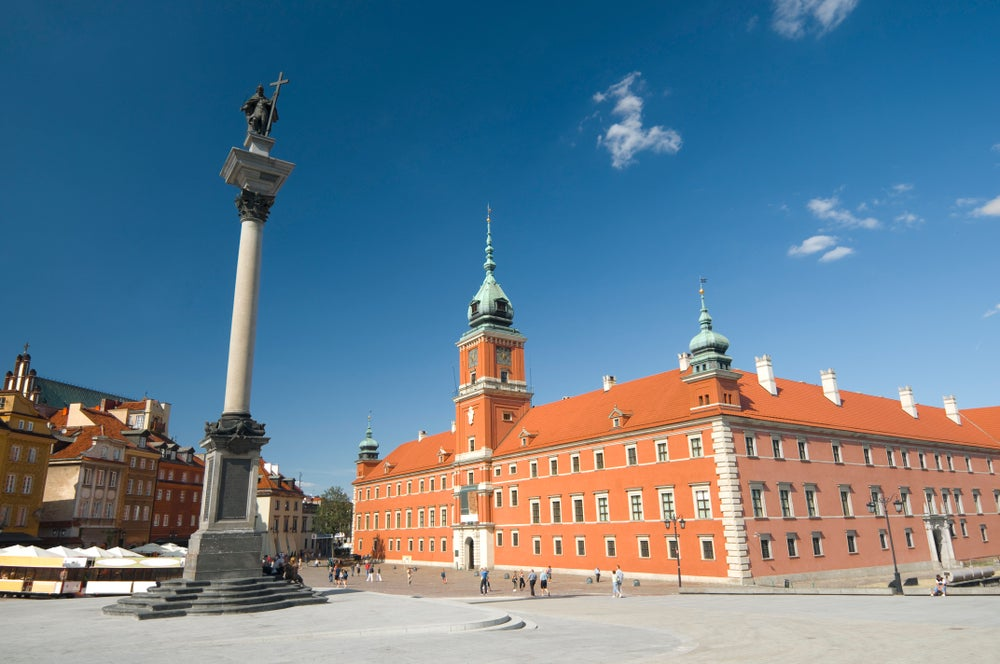 Royal Castle in Warsaw.