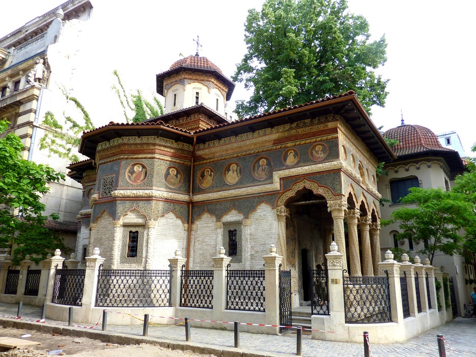 Stavropoleos Church.