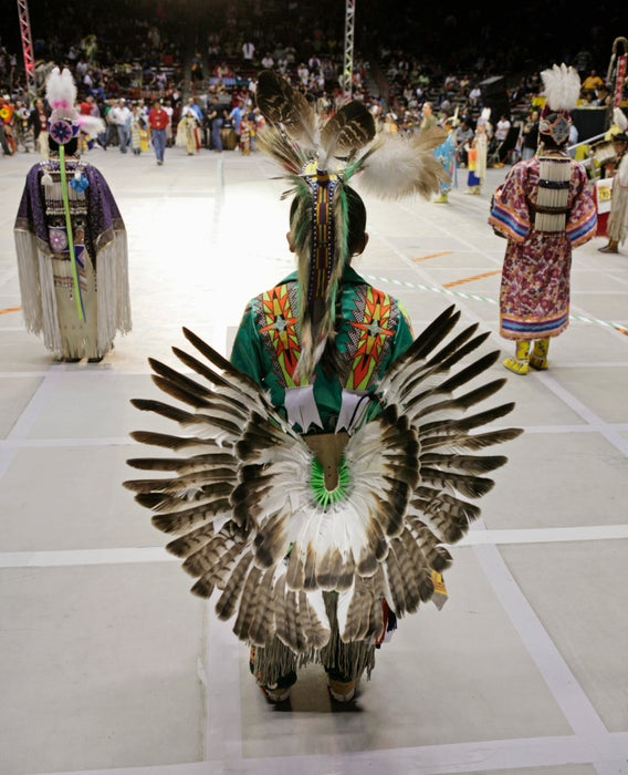 Gathering of Nations Powwow.