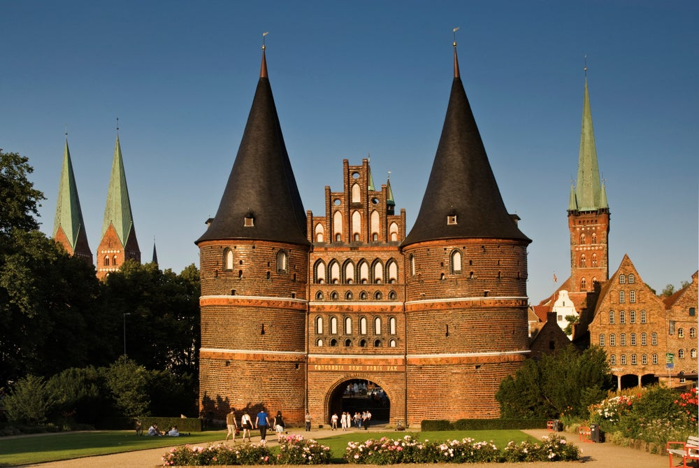 Lubeck's Holstentor.