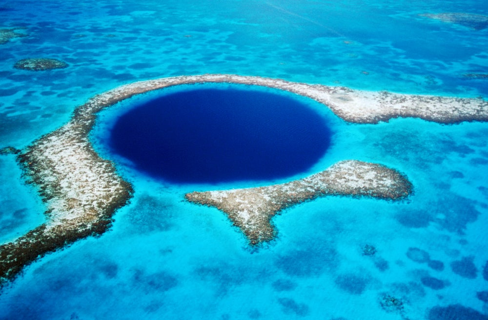 Blue Hole Natural Monument.