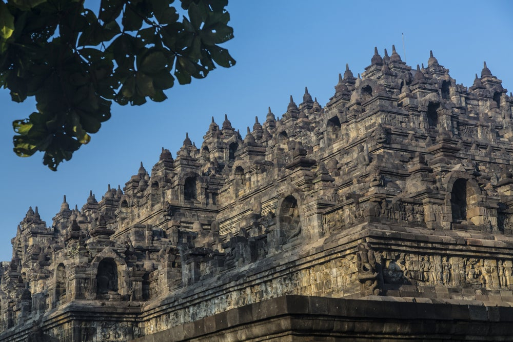 Details of Borobudur Temple.