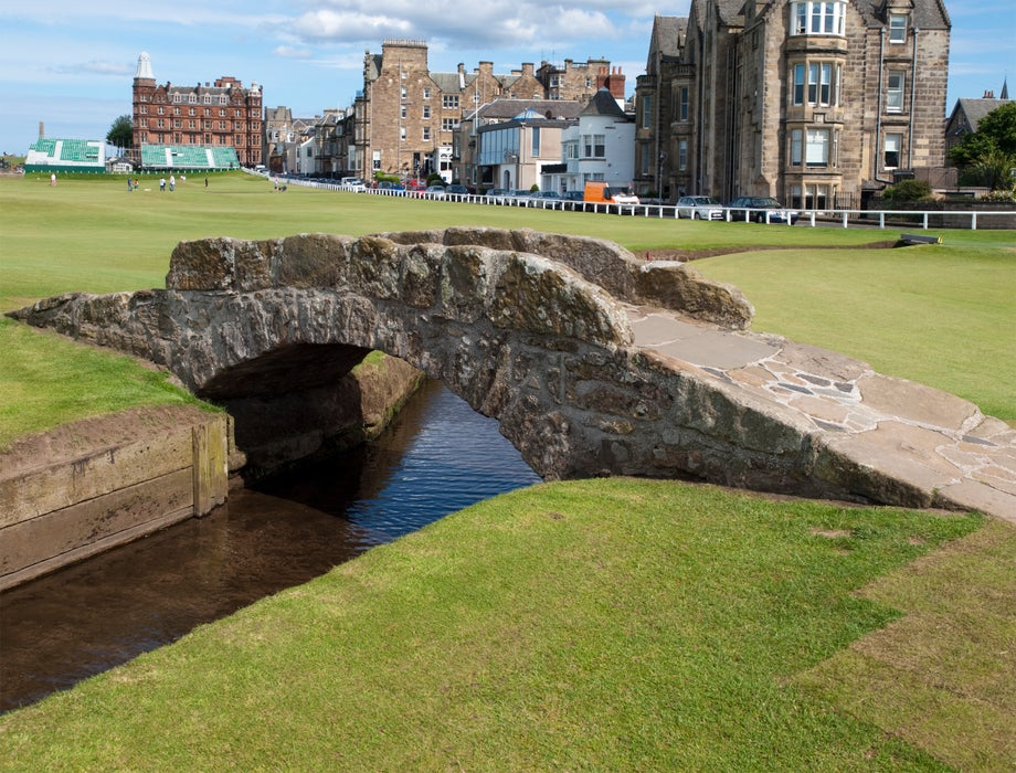 Old Course at St Andrews.
