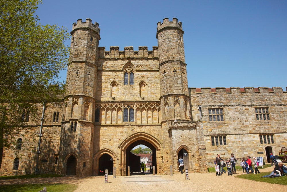Great Gatehouse in Battle Abbey.