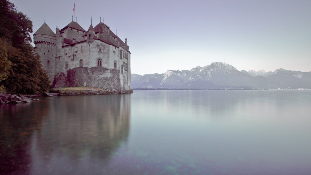 Château de Chillon on Lake Geneva.